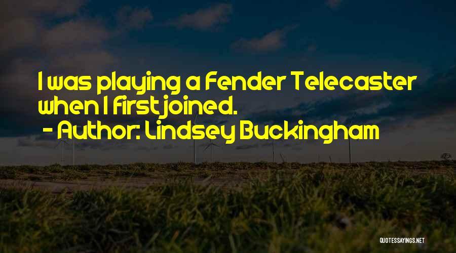 Lindsey Buckingham Quotes 625928