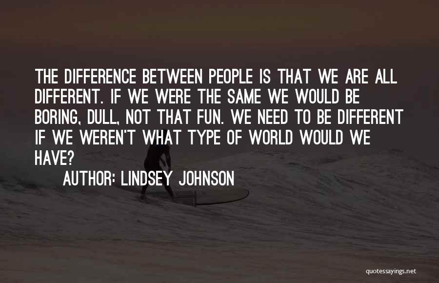 Lindsey Johnson Quotes 115951