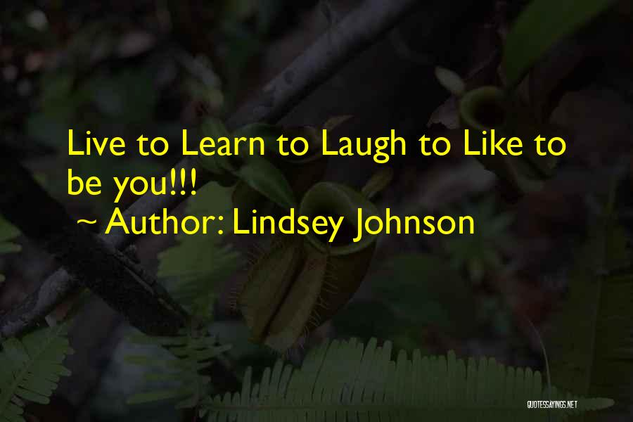 Lindsey Johnson Quotes 1241554