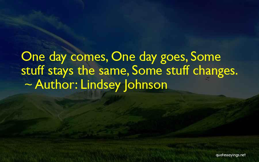 Lindsey Johnson Quotes 766990