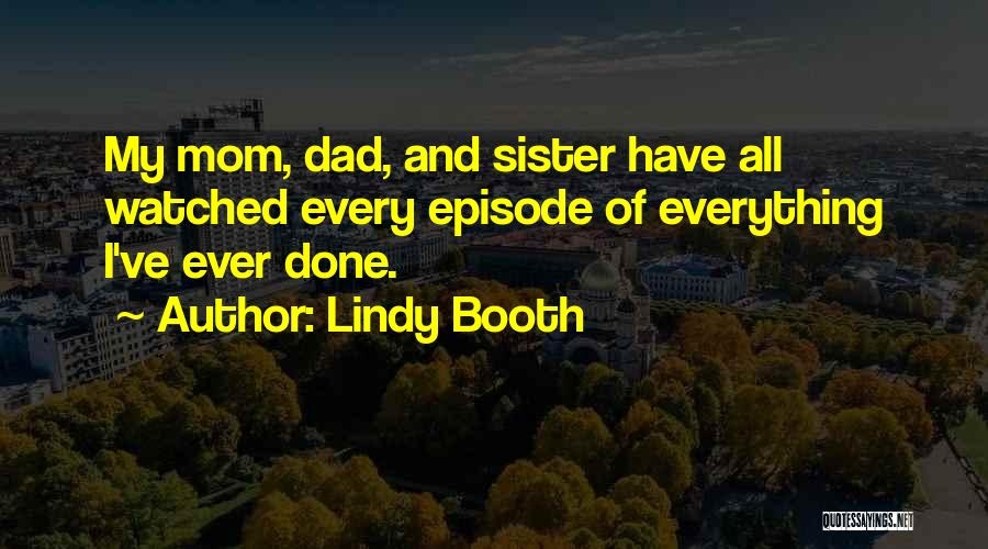 Lindy Booth Quotes 284327