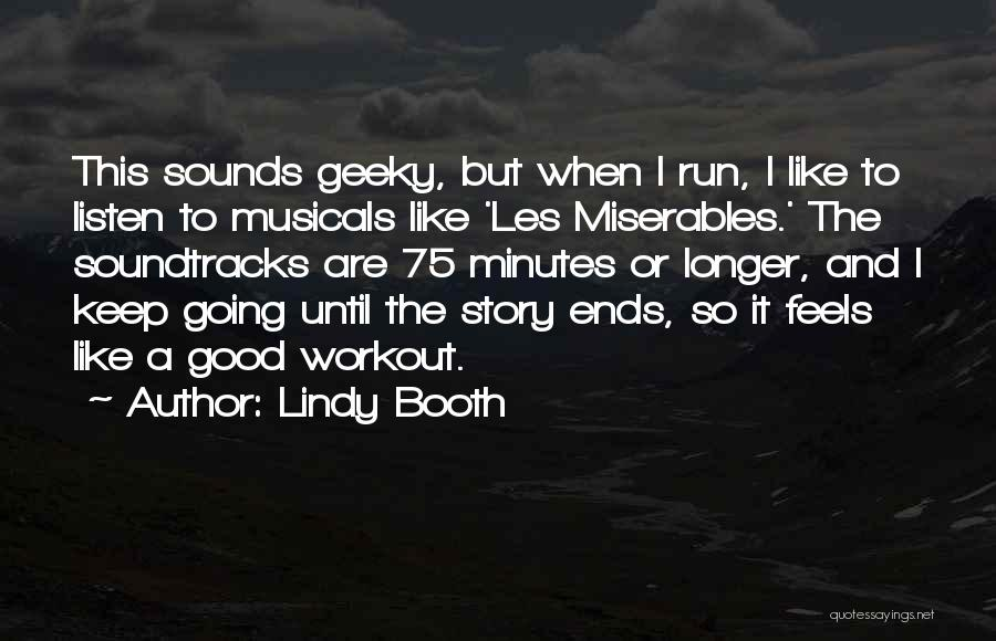 Lindy Booth Quotes 762702