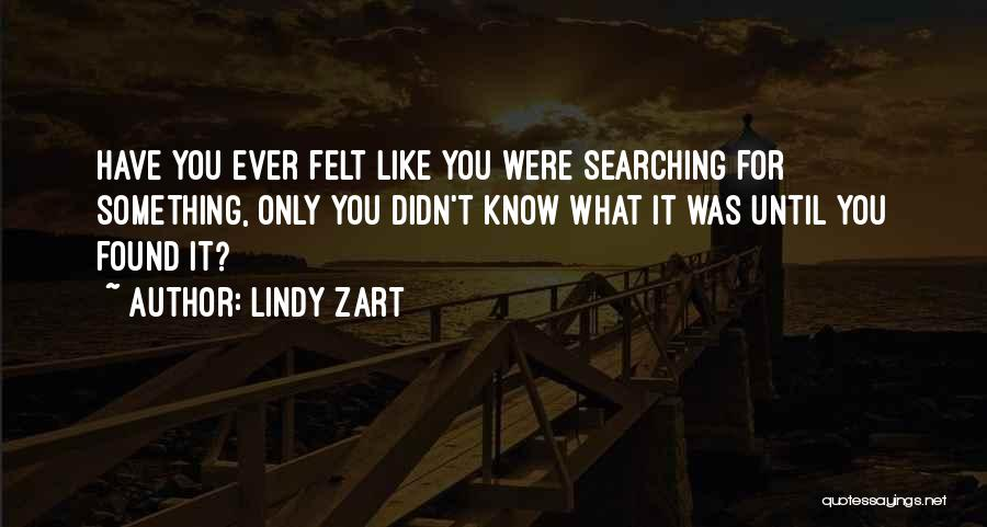 Lindy Zart Quotes 198321