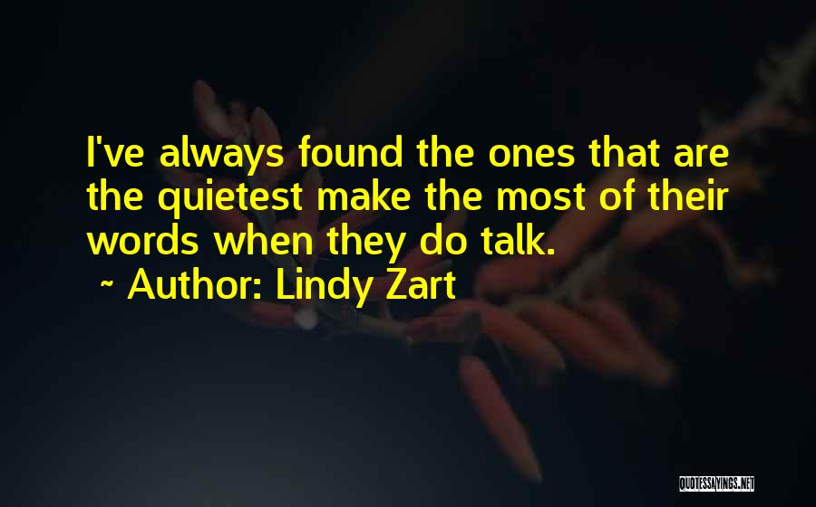 Lindy Zart Quotes 232652