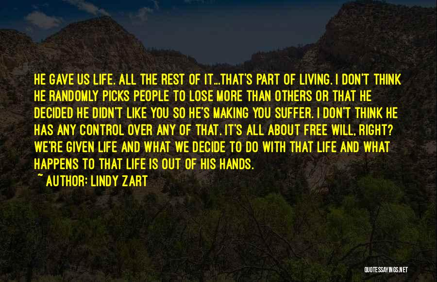 Lindy Zart Quotes 239296