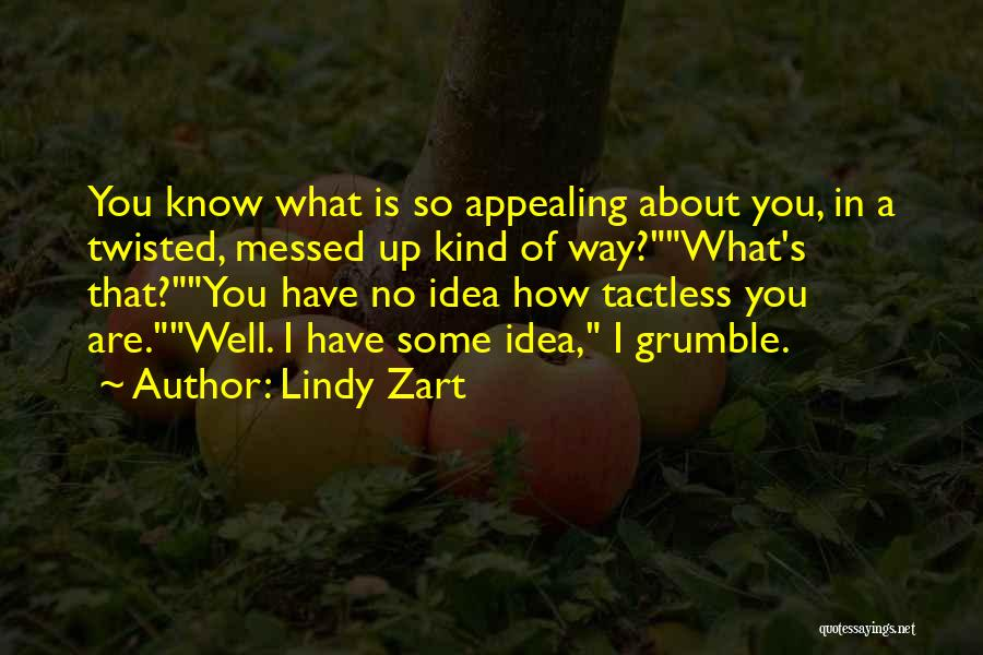 Lindy Zart Quotes 579798