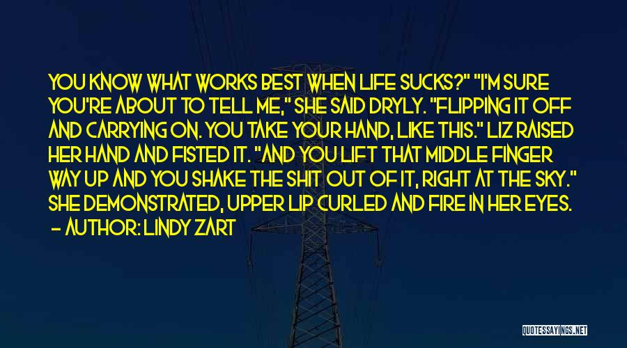 Lindy Zart Quotes 746234