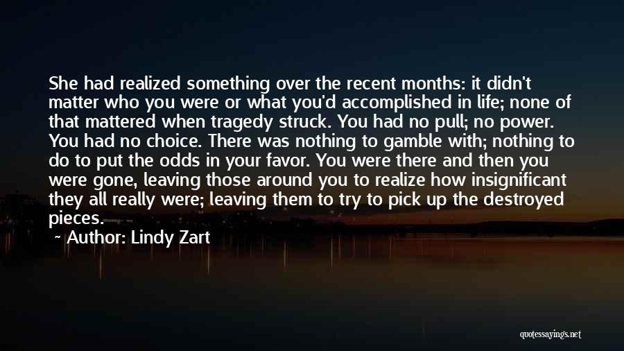 Lindy Zart Quotes 78855