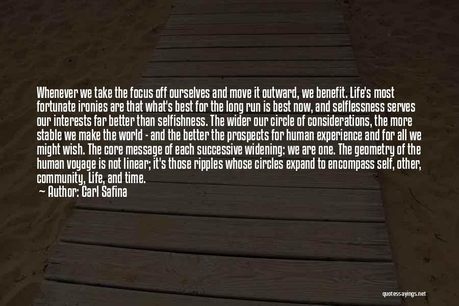 Linear Time Quotes By Carl Safina