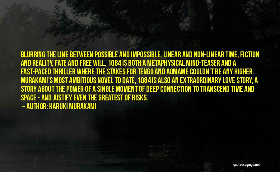 Linear Time Quotes By Haruki Murakami