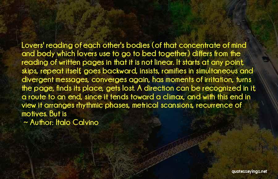 Linear Time Quotes By Italo Calvino