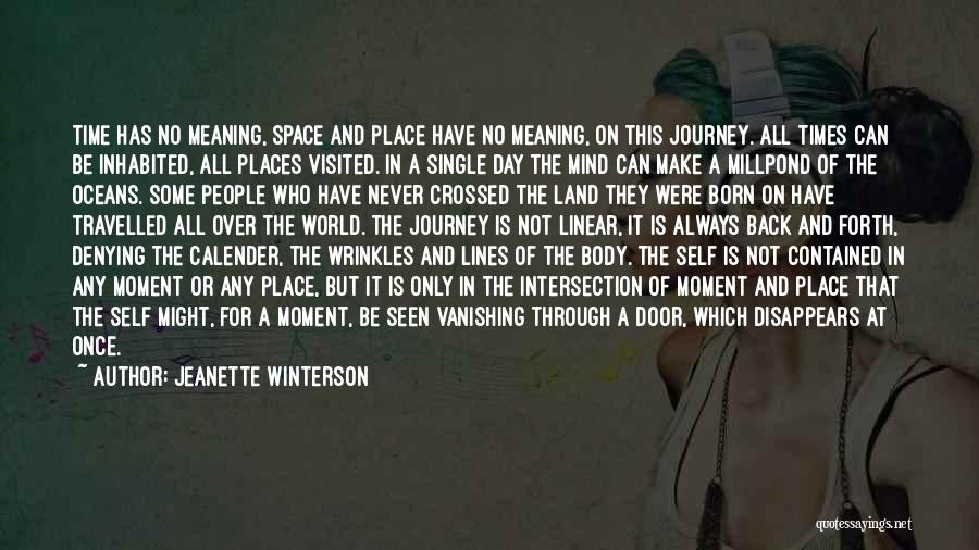 Linear Time Quotes By Jeanette Winterson