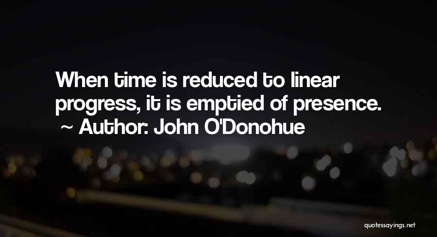 Linear Time Quotes By John O'Donohue