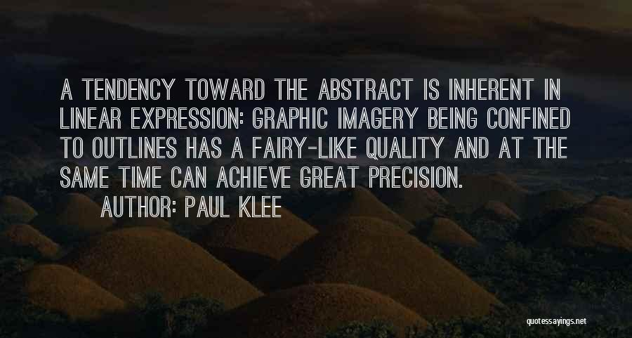 Linear Time Quotes By Paul Klee