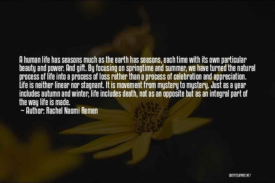 Linear Time Quotes By Rachel Naomi Remen
