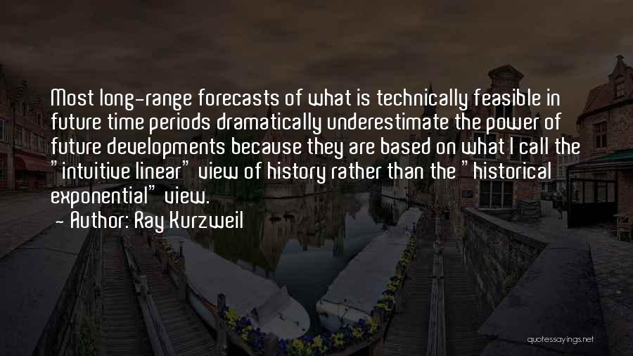 Linear Time Quotes By Ray Kurzweil