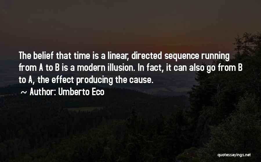Linear Time Quotes By Umberto Eco