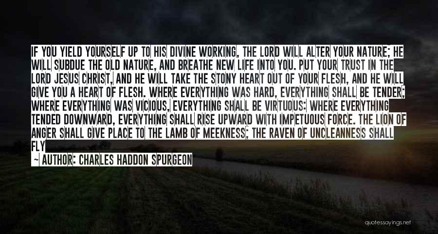 Lion And Lamb Quotes By Charles Haddon Spurgeon