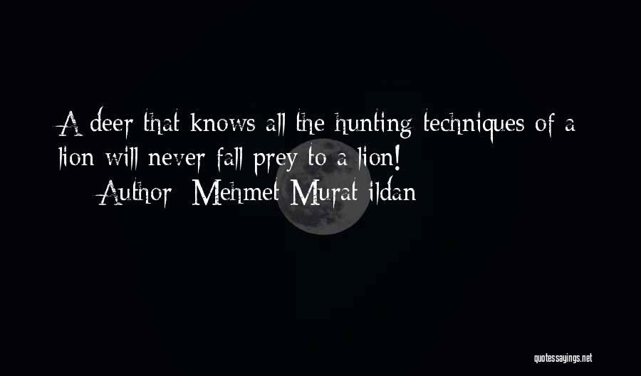 Lion Prey Quotes By Mehmet Murat Ildan