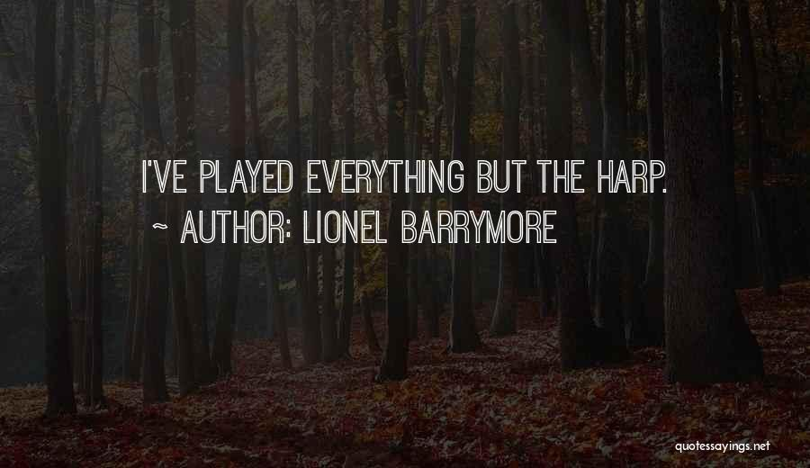 Lionel Barrymore Quotes 100865