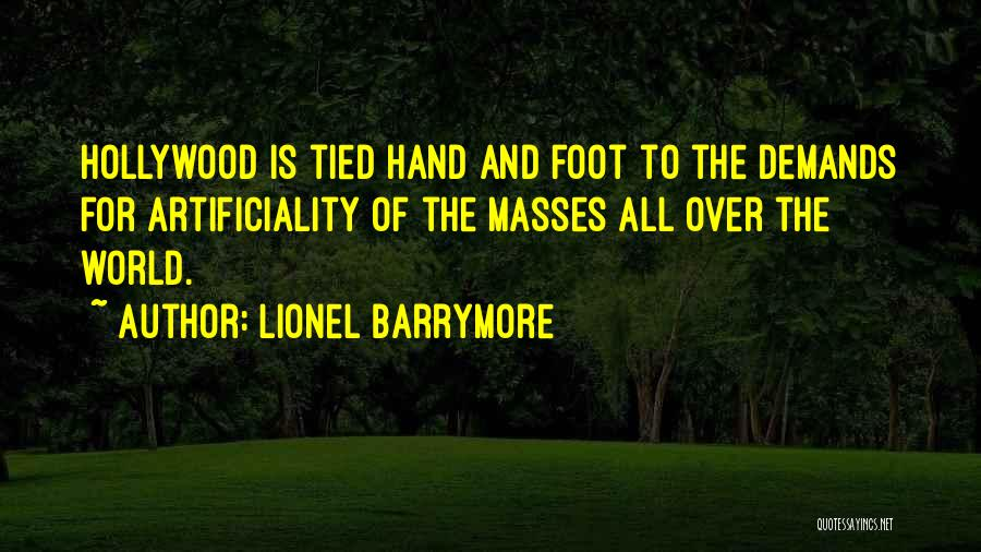 Lionel Barrymore Quotes 344302