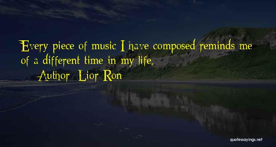 Lior Ron Quotes 1886439