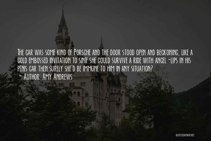 Lips Of An Angel Quotes By Amy Andrews
