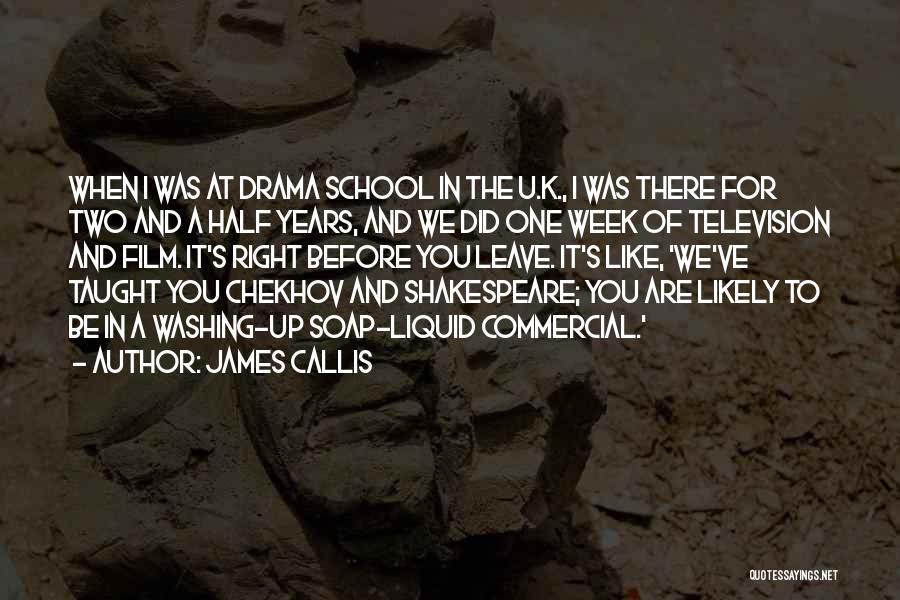 Liquid Quotes By James Callis