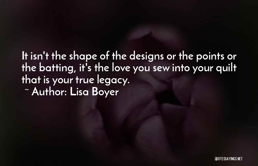 Lisa Boyer Quotes 2186610