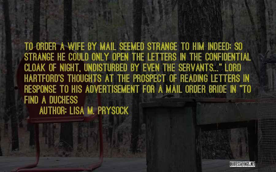 Lisa M. Prysock Quotes 1454384