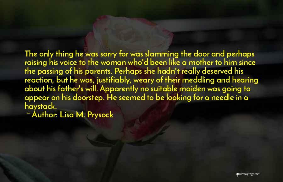 Lisa M. Prysock Quotes 846858