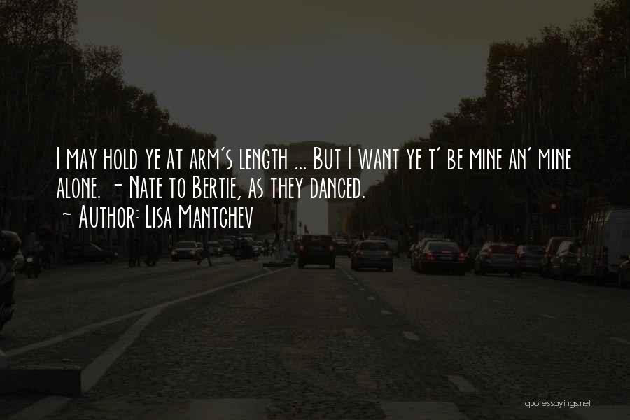 Lisa Mantchev Quotes 1093681