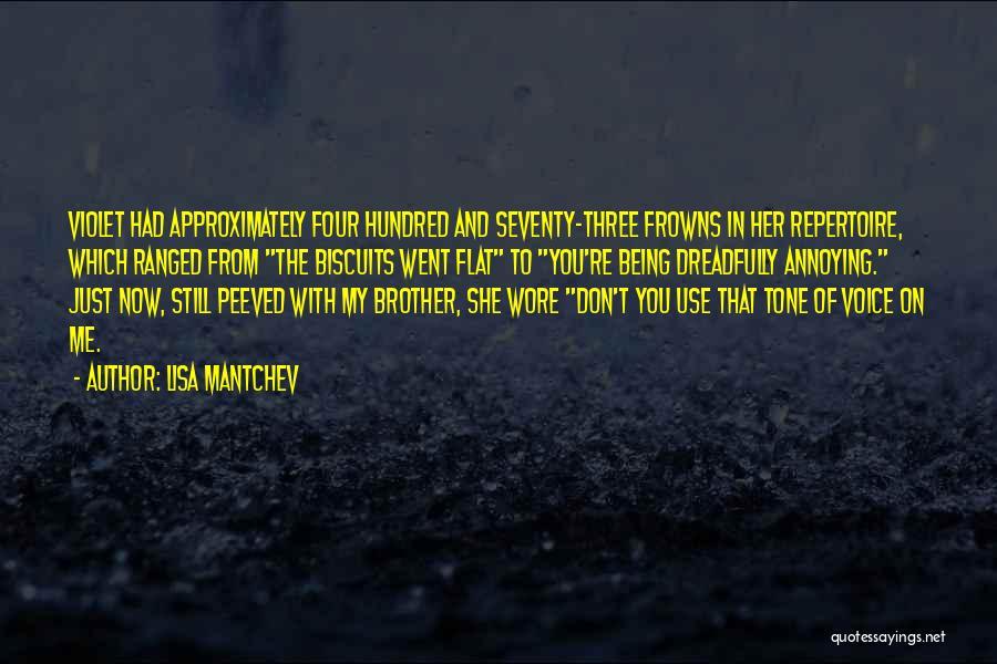 Lisa Mantchev Quotes 1108974