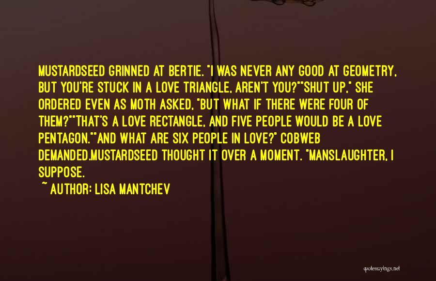Lisa Mantchev Quotes 149778