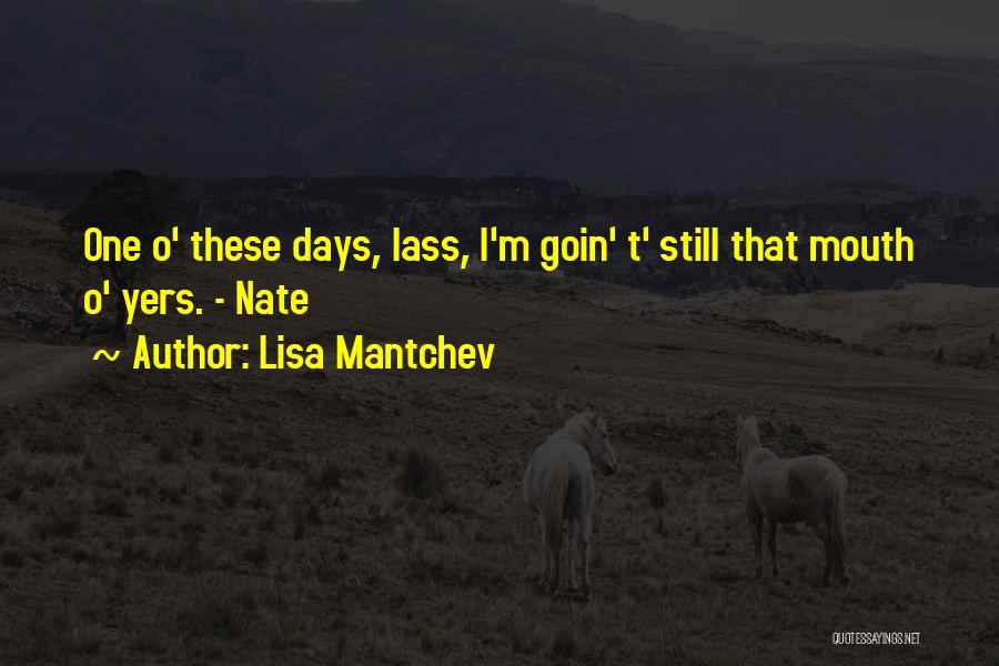 Lisa Mantchev Quotes 675256