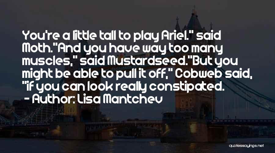 Lisa Mantchev Quotes 792379