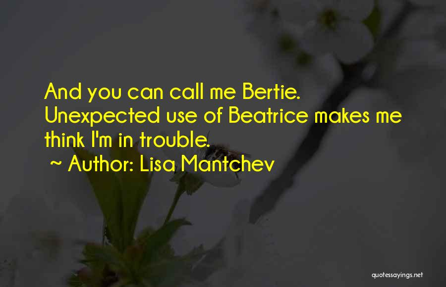 Lisa Mantchev Quotes 871622