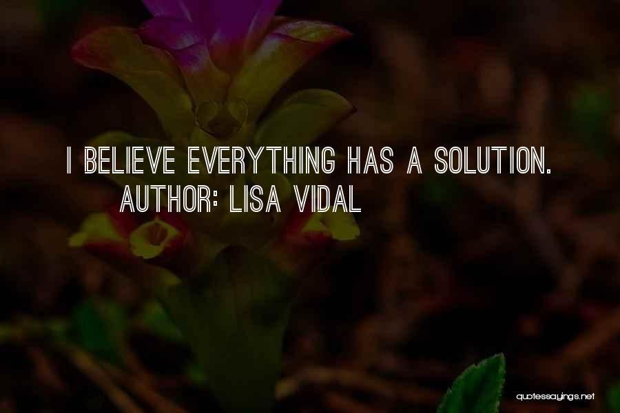 Lisa Vidal Quotes 198904
