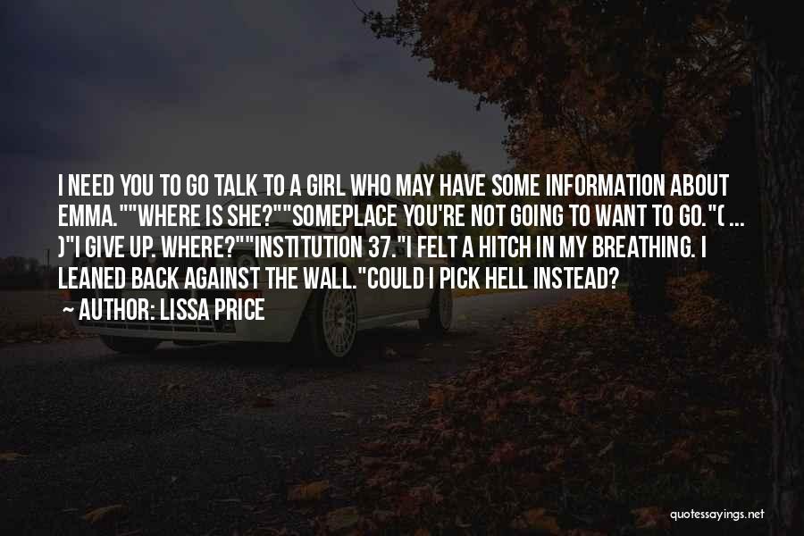 Lissa Price Quotes 834026