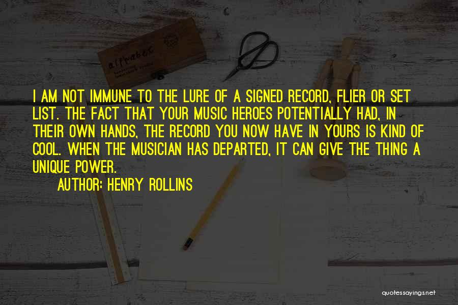 List Of Cool Quotes By Henry Rollins