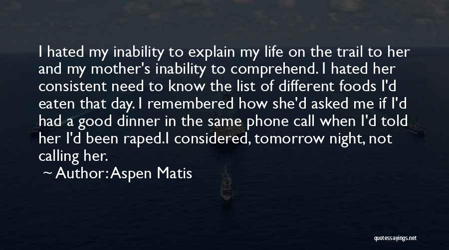 List Of Good Night Quotes By Aspen Matis
