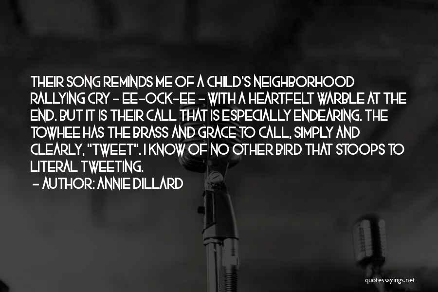Listen To Quotes By Annie Dillard
