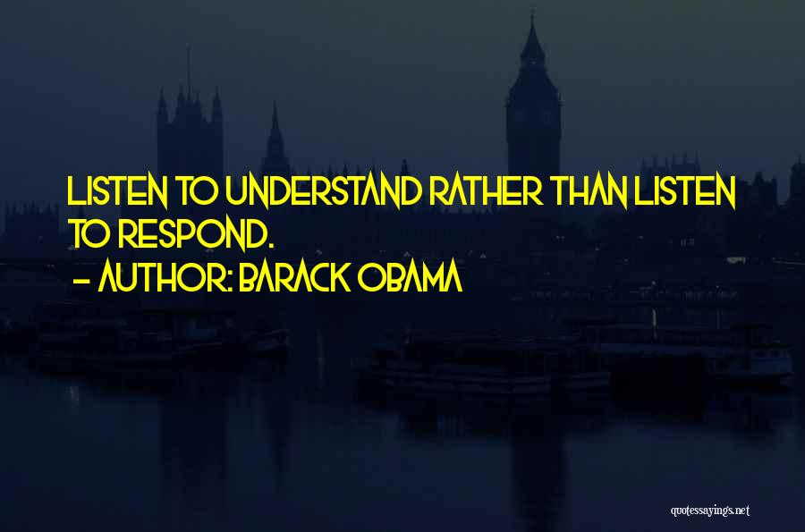 Listen To Quotes By Barack Obama