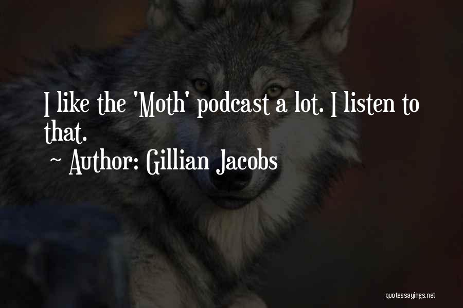 Listen To Quotes By Gillian Jacobs