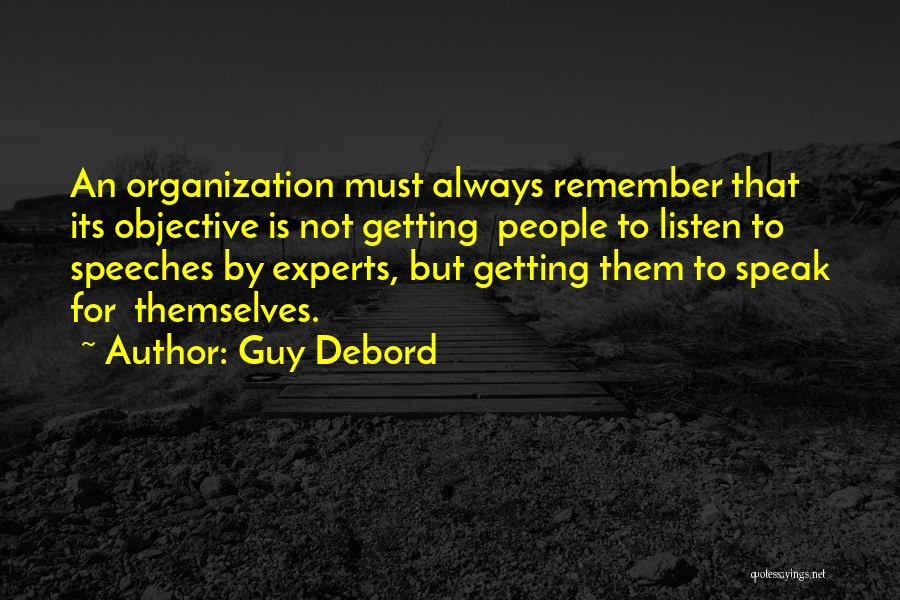 Listen To Quotes By Guy Debord