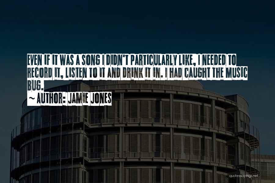 Listen To Quotes By Jamie Jones