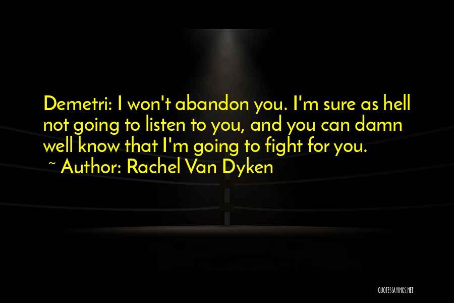 Listen To Quotes By Rachel Van Dyken