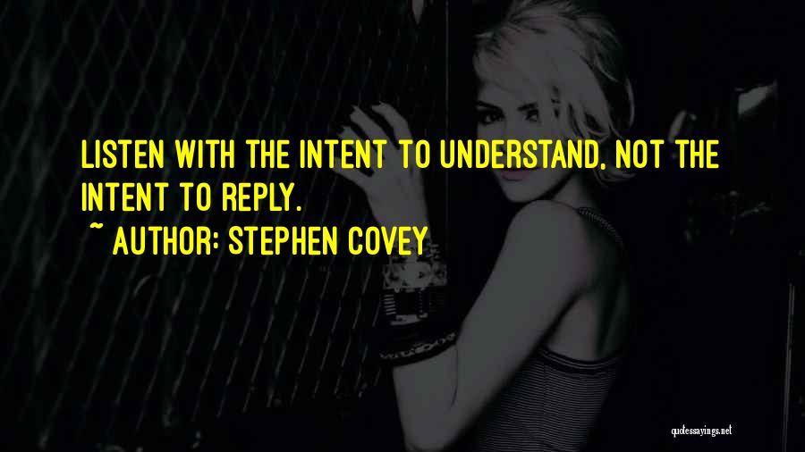 Listen To Quotes By Stephen Covey