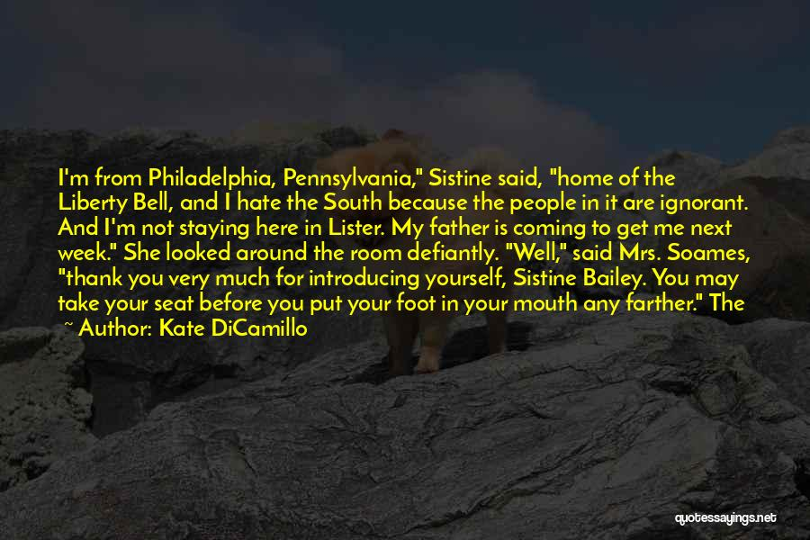 Lister Quotes By Kate DiCamillo