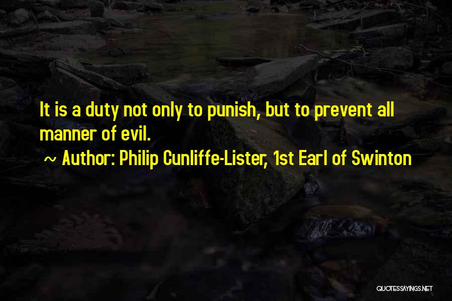 Lister Quotes By Philip Cunliffe-Lister, 1st Earl Of Swinton